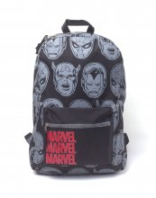 Marvel Backpack Characters All Over Printed