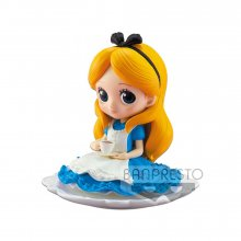 Disney Q Posket SUGIRLY mini figurka Alice Normal Color Ver. 9 c