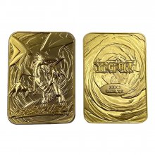 Yu-Gi-Oh! Replica Card Blue Eyes White Dragon (gold plated)