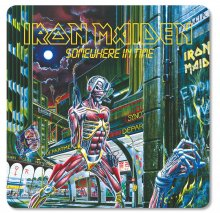 Iron Maiden podtácky Pack Somewhere in Time (6)