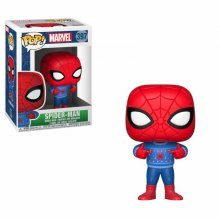 Marvel Comics POP! Marvel Holiday Vinyl Bobble-Head Spider-Man (