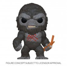 Godzilla Vs Kong POP! Movies Vinylová Figurka Battle Worn Kong 9