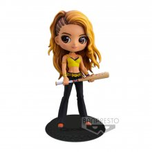 Birds of Prey Q Posket mini figurka Black Canary Ver. B 14 cm