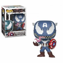 Venom POP! Marvel Vinyl Bobble-Head Venomized Captain America 9