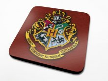 Harry Potter podtácky Bradavice Crest 6-Pack