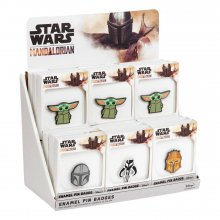 Star Wars The Mandalorian Enamel Pin Display (18)