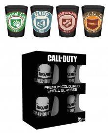 Call of Duty Premium panáky 4-Pack Perks
