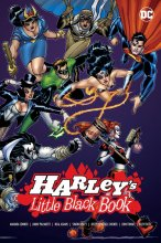 DC Comics Comic Book Harleys Little Black Book by Jimmy Palmiott