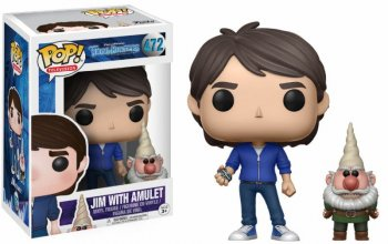Trollhunters POP! Television Vinyl Figure Jim with Amulet & Gnom