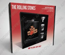Rolling Stones Placatka Set Tongue