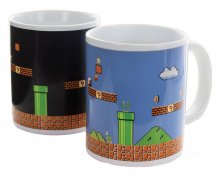 Super Mario Bros. Heat Change Mug Level