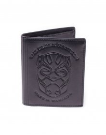 Black Panther Movie Wallet Trifold Made in Wakanda