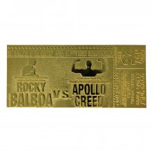 Rocky II Replica Superfight II Ticket (gold plated)