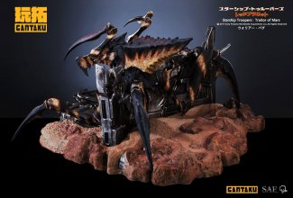 Starship Troopers: Traitor of Mars Socha 1/6 Warrior Bug 135 cm
