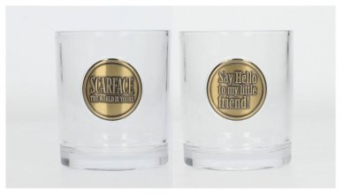 Scarface Whisky Tumblers 2-Pack Logo