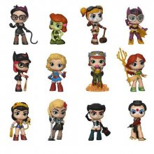 DC Bombshells Mystery mini figurky 5 cm Display (12)