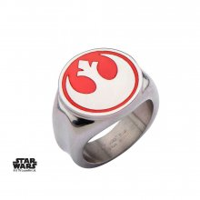 Star Wars Ring Red Rebel Alliance Symbol Size 07