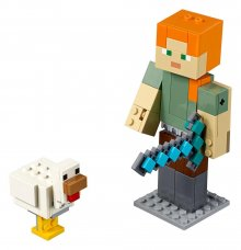 LEGO® Minecraft™ - BigFig Series 1: Alex with Chicken