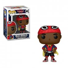 Spider-Man Animated POP! Marvel Vinyl Bobble-Head Miles with Cap