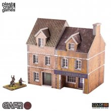 EWAR WWII ColorED Miniature Gaming Model Kit 15 mm Semi-detached