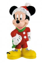 Disney Mickey Mouse & Friends Figure Mickey Christmas 7 cm