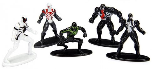 Marvel Comics Nano Metalfigs Diecast mini figurky 5-Pack Spider-