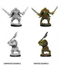 Pathfinder Battles Deep Cuts Unpainted Miniatures Orcs Case (6)