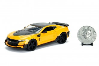 Transformers kovový model 1/24 2016 Chevy Camaro Bumblebee with
