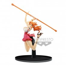 One Piece BWFC PVC Socha Nami Normal Color Ver. 13 cm