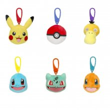 Pokémon Clip on Plush Figures 9 cm prodej v sadě (6)
