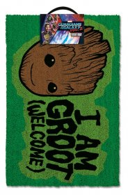 Guardians of the Galaxy Vol. 2 Doormat I AM GROOT - Welcome 40 x