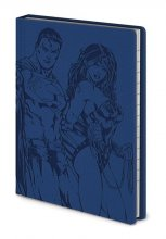 DC Comics Premium Notebook A6 Justice League