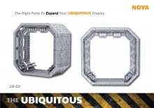 Ubiquitous Diorama Case for Action Figures Expansion Set