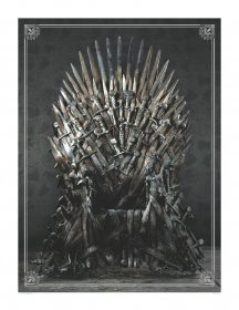 Game of Thrones Puzzle Iron Throne