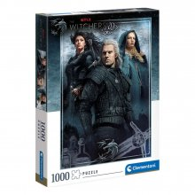 The Witcher skládací puzzle Ciri, Yennefer & Geralt (1000 pieces