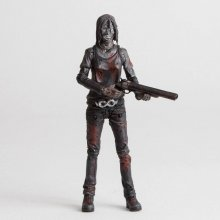 The Walking Dead Action Figure Alpha (Bloody B&W) 15 cm