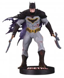 DC Designer Series Socha Metal Batman by Greg Capullo 29 cm