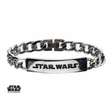 Star Wars Curb Chain Bracelet Star Wars Logo