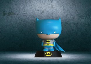 DC Comics 3D Icon světlo Retro Batman 10 cm