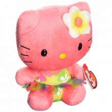 Hello Kitty plyšová hračka Babies Kitty Rose 15 cm