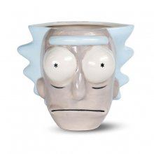 Rick and Morty 3D Shaped Hrnek Rick Head