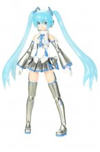 Hatsune Miku Frame Arms Girl plastový model kit Snow Miku 15 cm