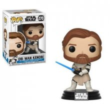 Star Wars Clone Wars POP! Vinyl Bobble-Head Obi Wan Kenobi 9 cm