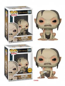 Lord of the Rings POP! Movies Vinylové Figurky Gollum 9 cm Asso