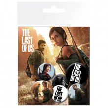 Placky The Last Of Us 6-pack