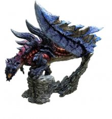 Monster Hunter PVC Statue CFB Creators Model Cutting Wyvern Glav