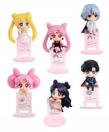 Sailor Moon Ochatomo Series Trading Figure 5 cm Night & Day Asso