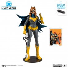 DC Rebirth Build A Akční figurka Batgirl (Art of the Crime) 18 c