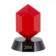 The Legend of Zelda 3D Icon světlo Red Rupee 10 cm