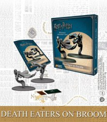 Harry Potter Miniature 35 mm 2-Pack Death Eaters on Broom *Engli